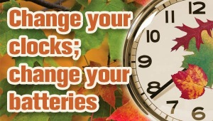 change clocks change batteries