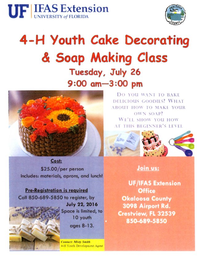 Cake and Soap Class001